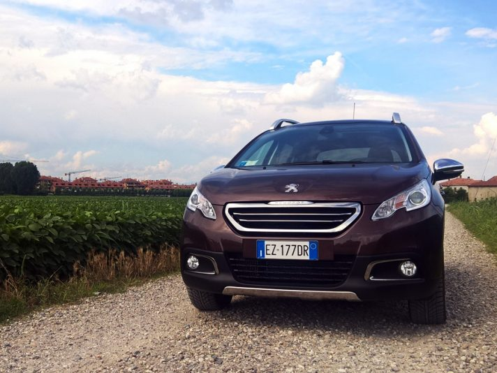 Peugeot 2008 frontale