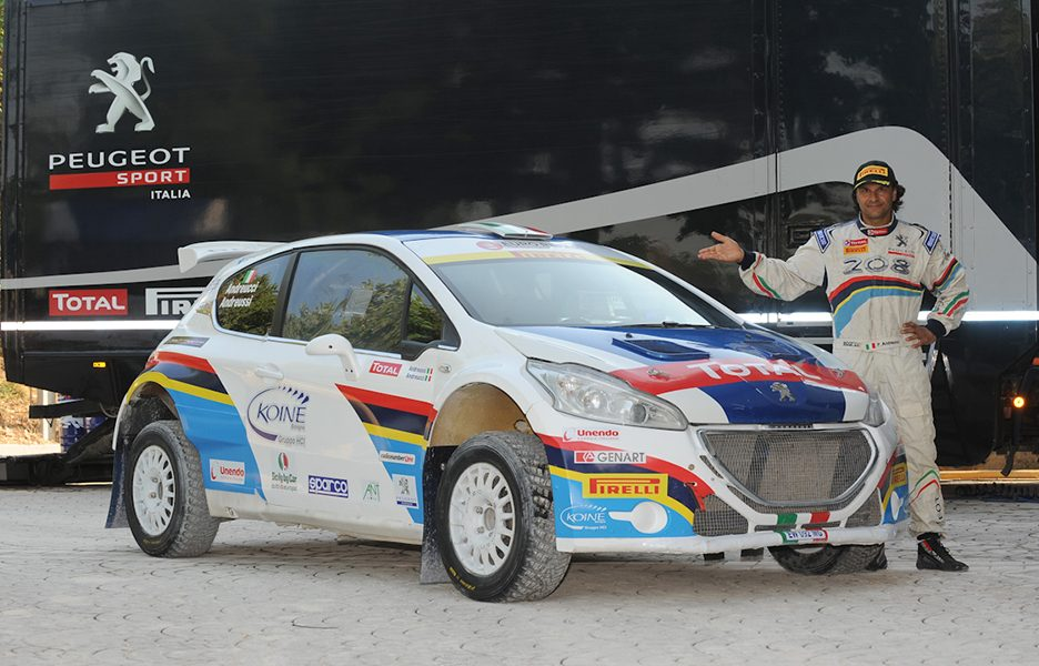 Peugeot 208 T16 Paolo Andreucci
