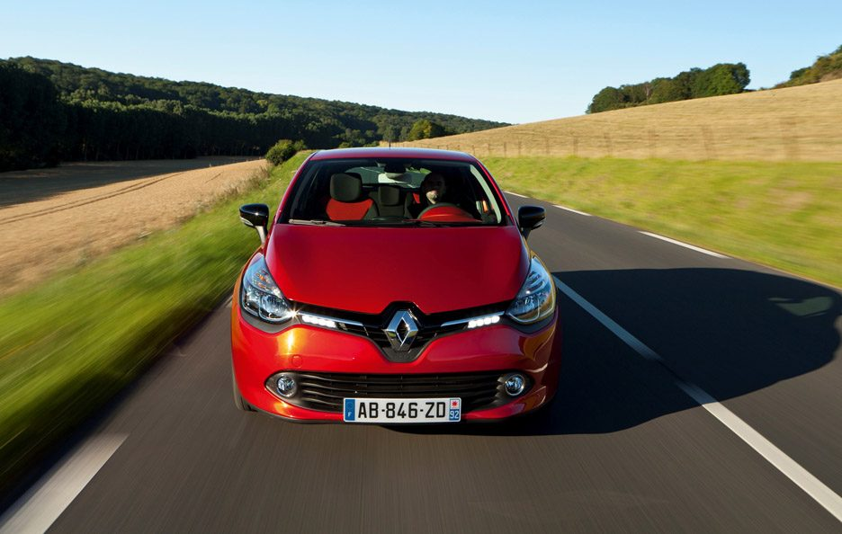 Renault Clio Sporter frontale