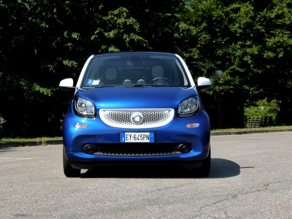 SMART Fortwo frontale