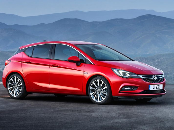 Vauxhall Astra (la variante inglese), debutto a Francoforte