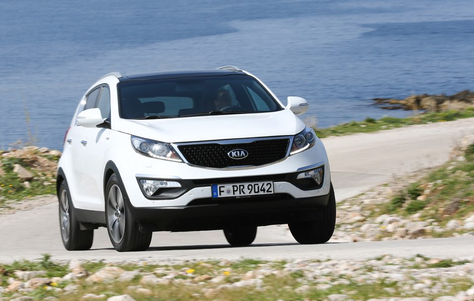 Kia Sportage 2.0 CRDi Feel Rebel (56 punti)