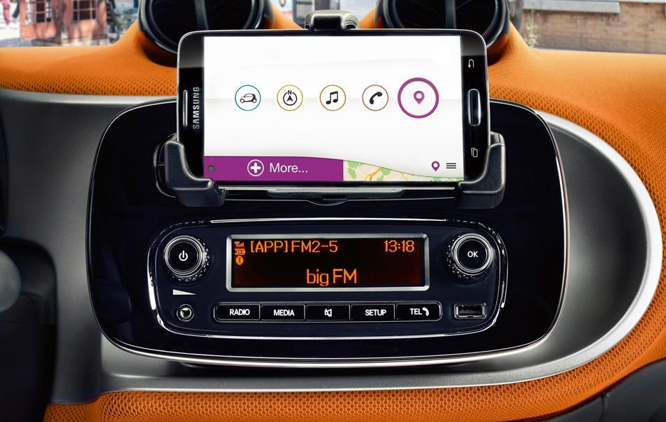 Smart forfour consolle centrale