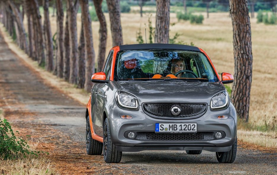 Smart forfour frontale