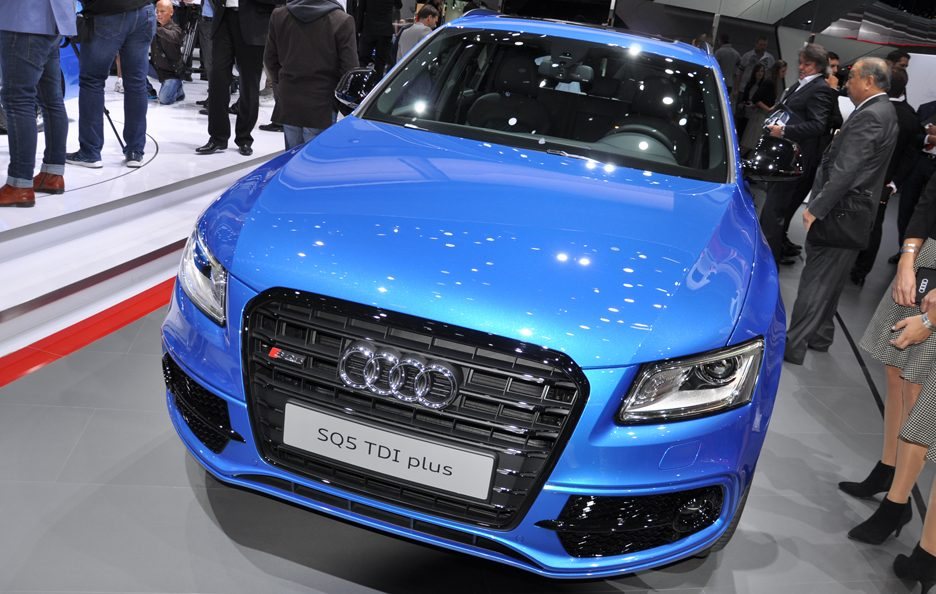 Audi SQ5 TDI plus - Salone Francoforte 2015