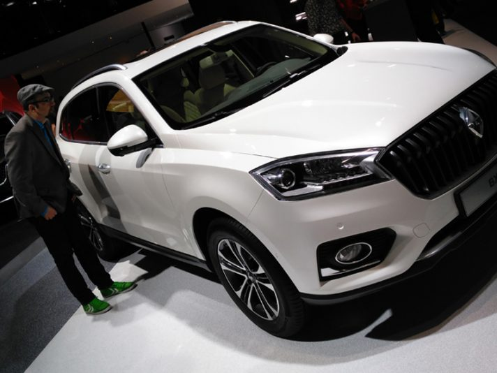 Borgward BX7 2 - Salone Francoforte 2015