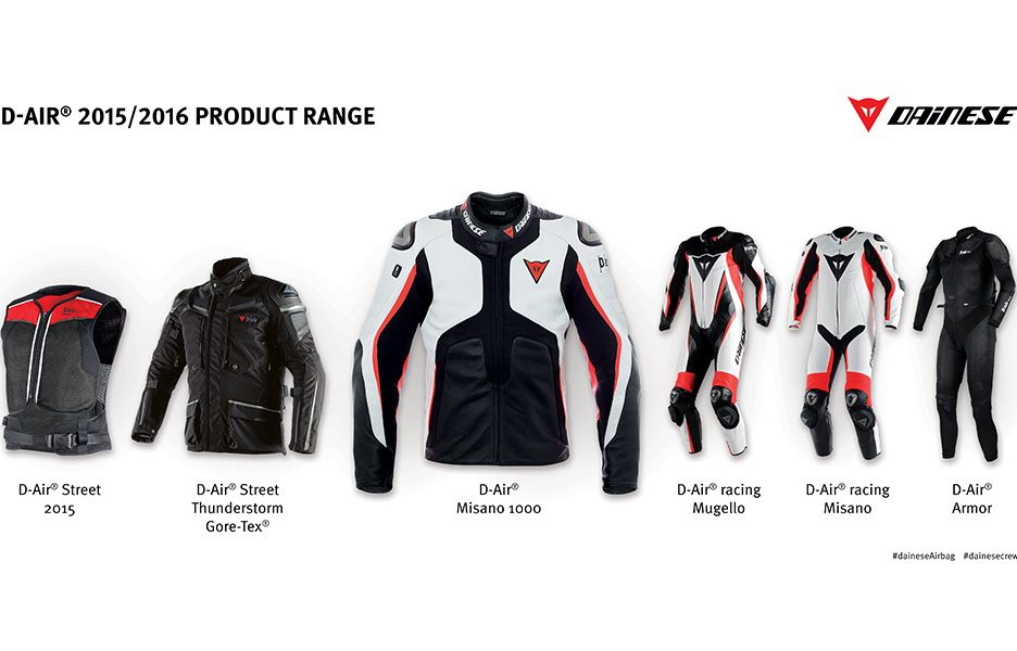 D-air 2015-2016 Product Range1