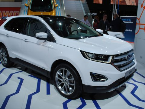 Ford Edge - Salone Francoforte 2015