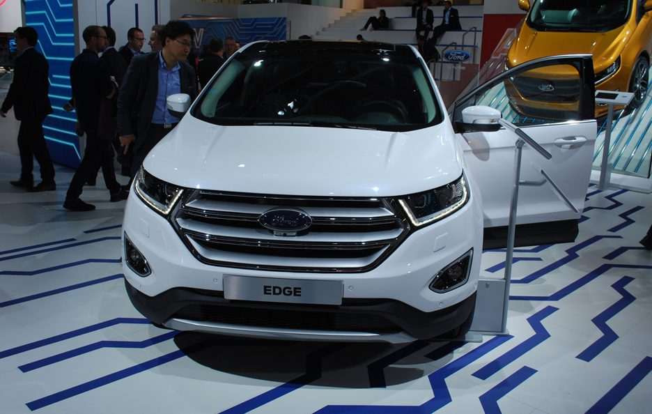 Ford Edge frontale - Salone Francoforte 2015