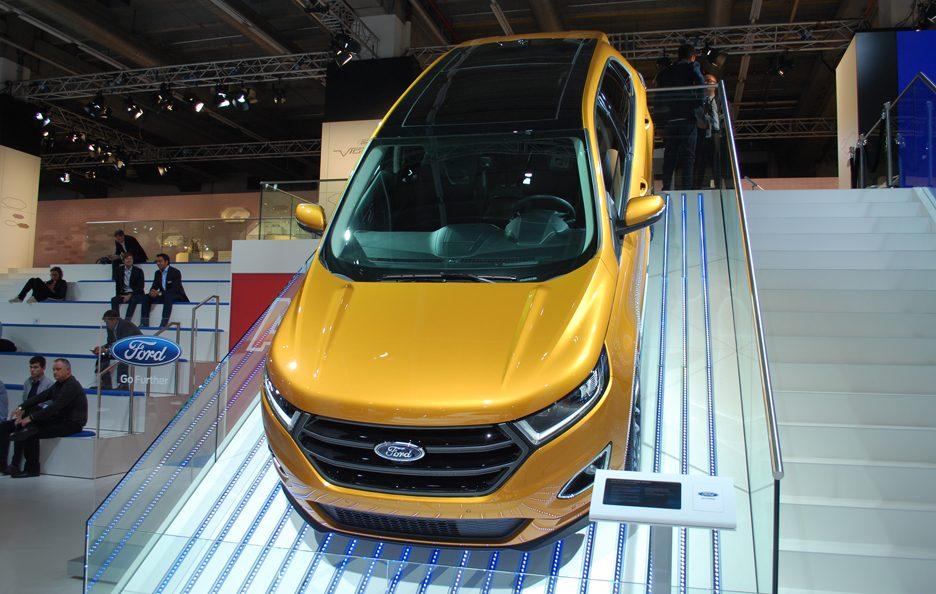 Ford Edge vista dall'alto 2 - Salone Francoforte 2015