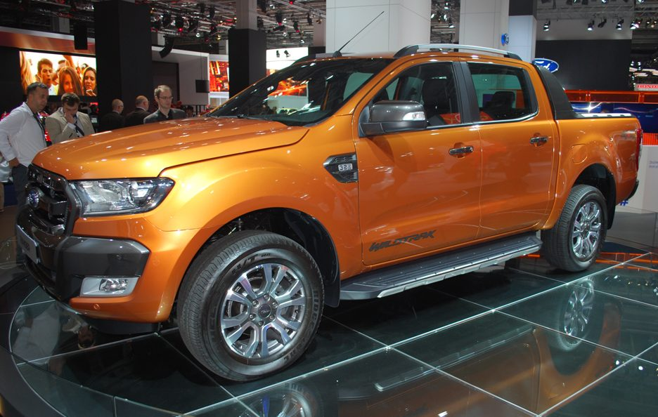 Ford Ranger - Salone Francoforte 2015