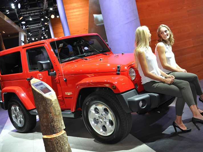 Jeep al Salone di Francoforte 2015