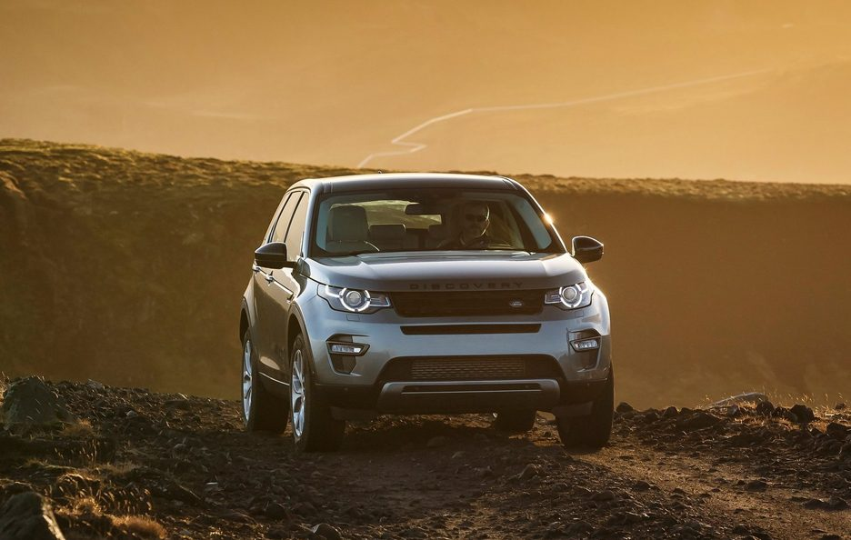 Land Rover Discovery Sport frontale