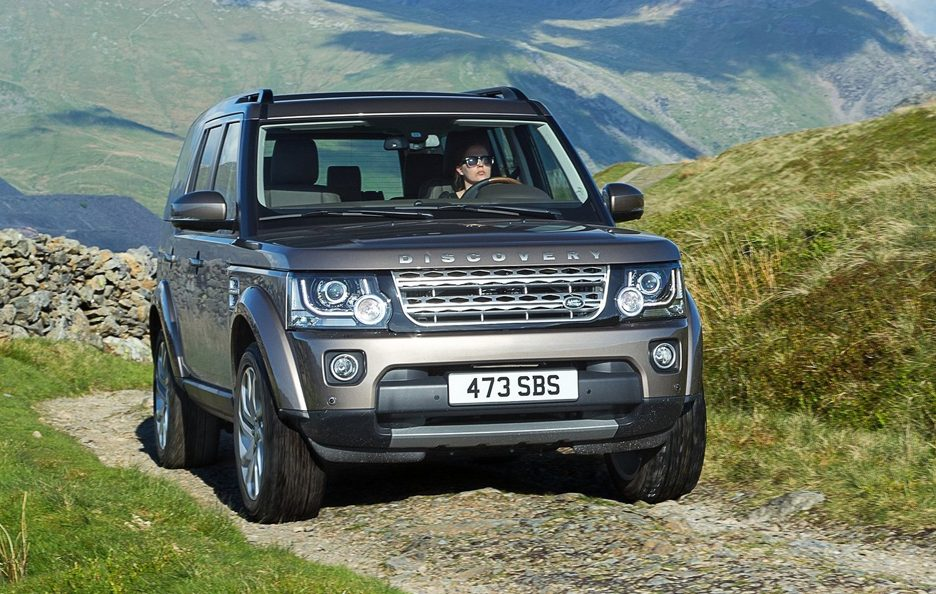 Land Rover Discovery frontale