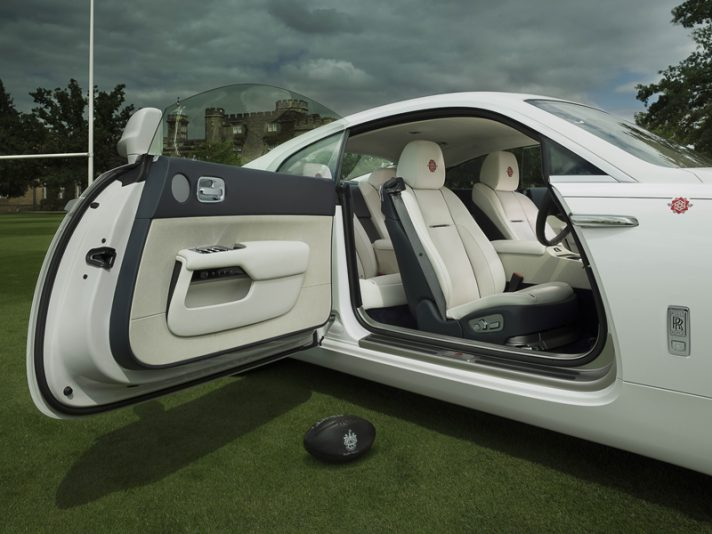 """Rolls Royce Wraith """"History of Rugby"""""""