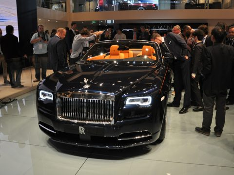 Salone di Francoforte 2015 - Rolls Royce Dawn