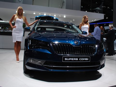 Salone di Francoforte 2015 - Skoda Superb Wagon