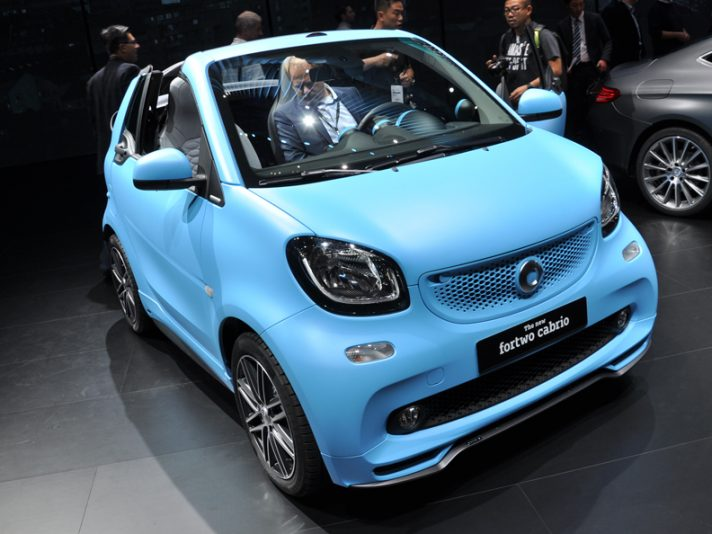 Smart fortwo cabrio 5 - Salone Francoforte 2015
