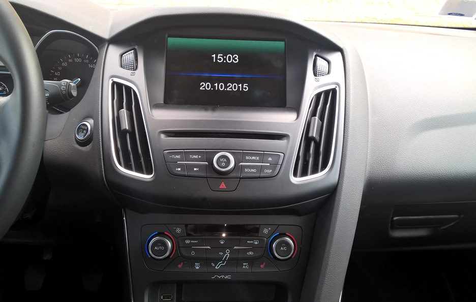 Ford Focus consolle centrale