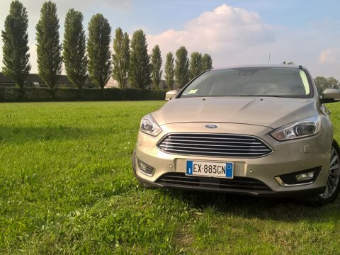 Ford Focus frontale 2