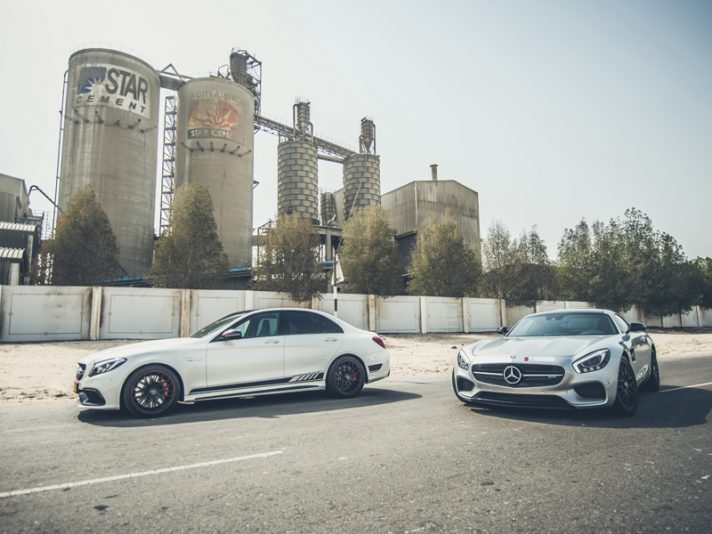 Mercedes C 63 AMG e AMG GT by PP-Performance