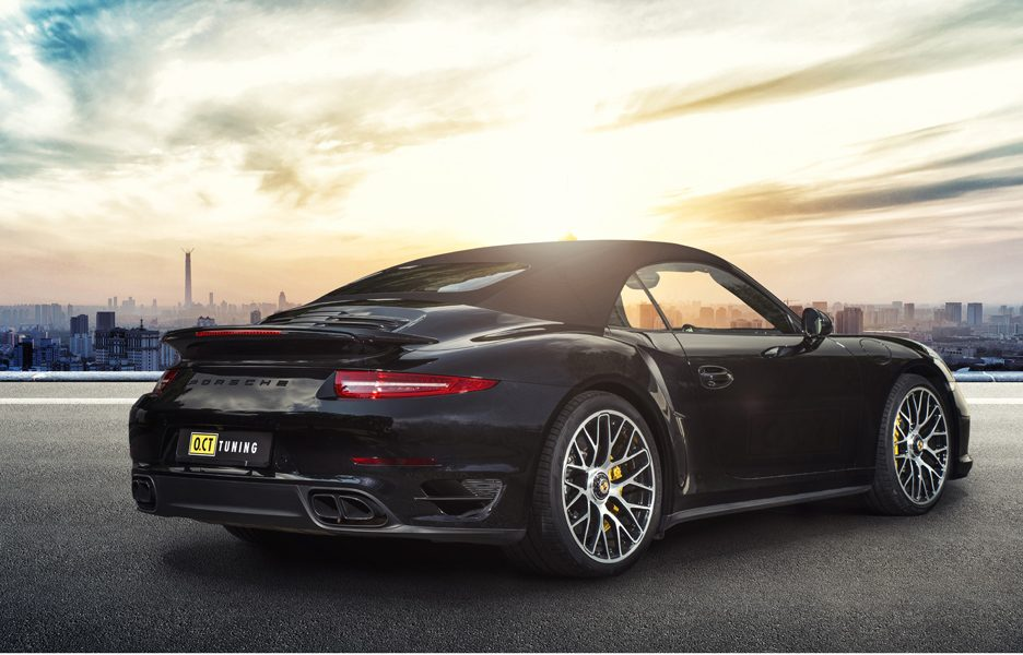 Porsche 911 Turbo S by O.CT TUNING