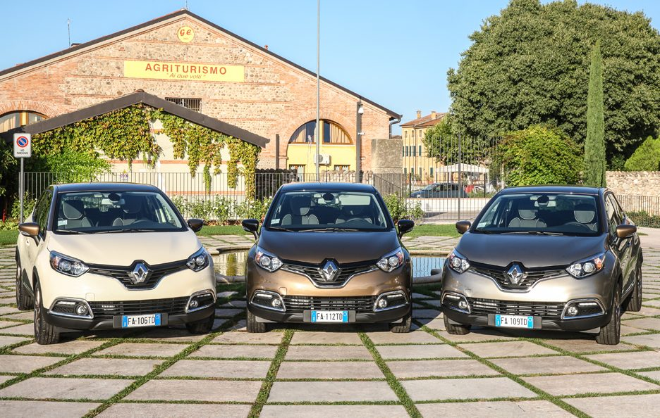 Renault Captur Iconic frontale