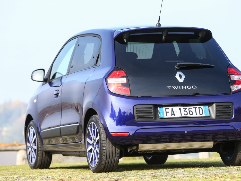 Renault TWINGO LoveLY posteriore