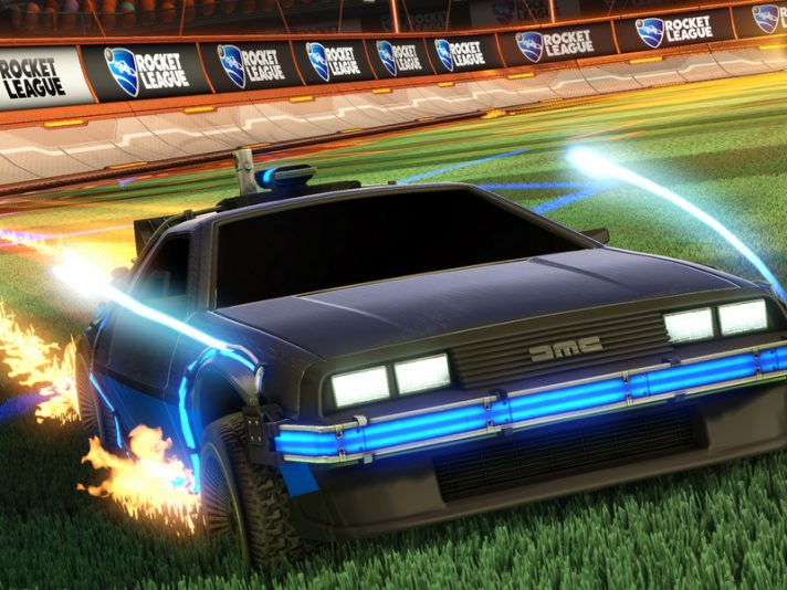 Rocket League Ritorno al Futuro