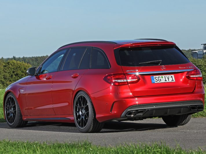 Mercedes C 63 AMG S Station Wagon by Wimmer