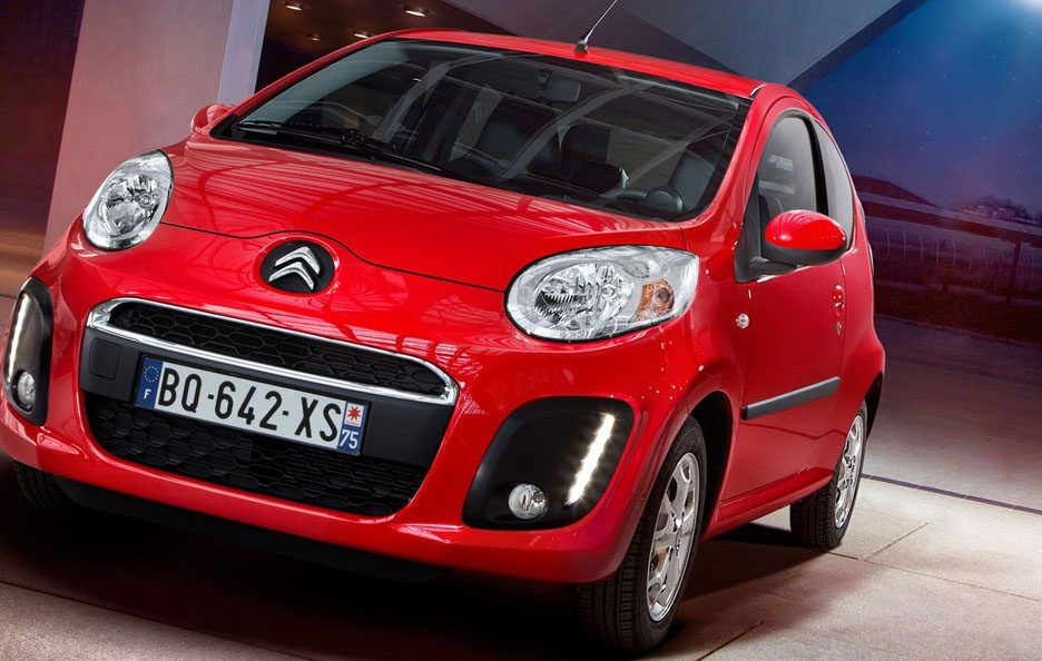 2012 - Citroën C1 secondo restyling