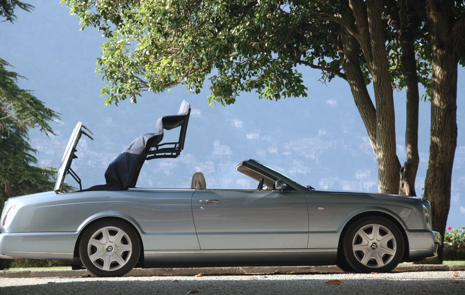 Bentley Azure apertura tetto
