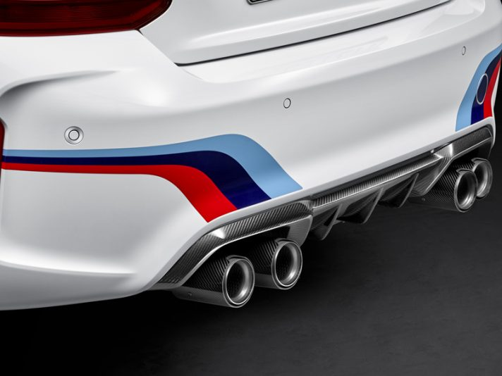 BMW M2: i primi accessori M Performance Parts