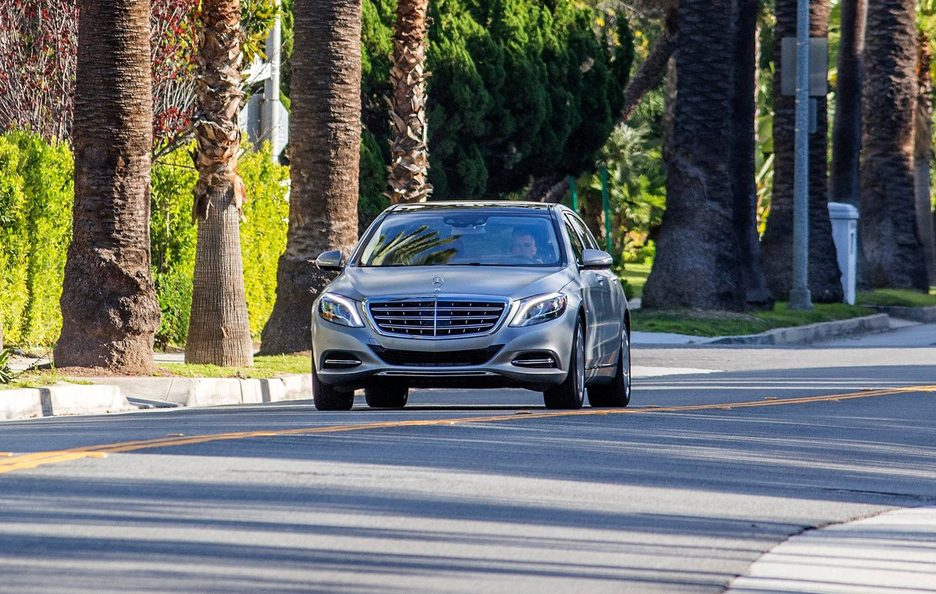 Mercedes Maybach S frontale