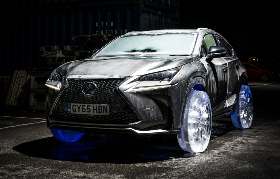 lexus-nx-rides-on-the-worlds-coolest-wheels-crafted-in-solid-ice-lexus-nx-ice-tyres-1