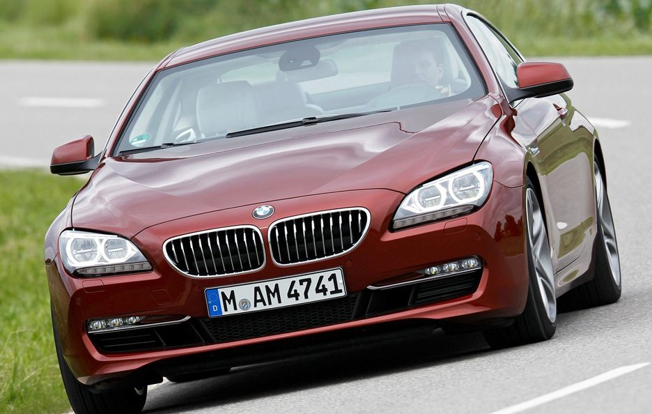 BMW serie 6 frontale