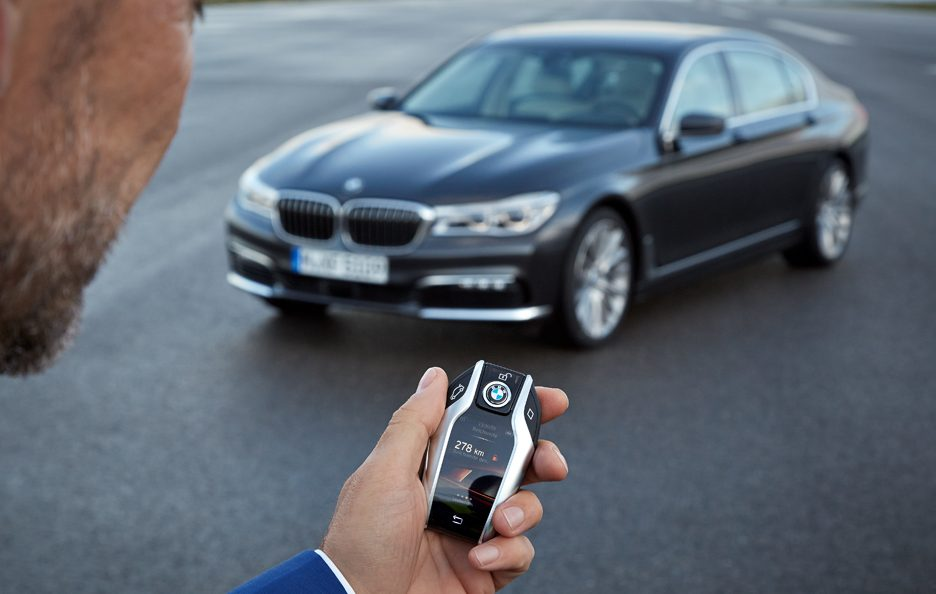 BMW serie 7 chiave