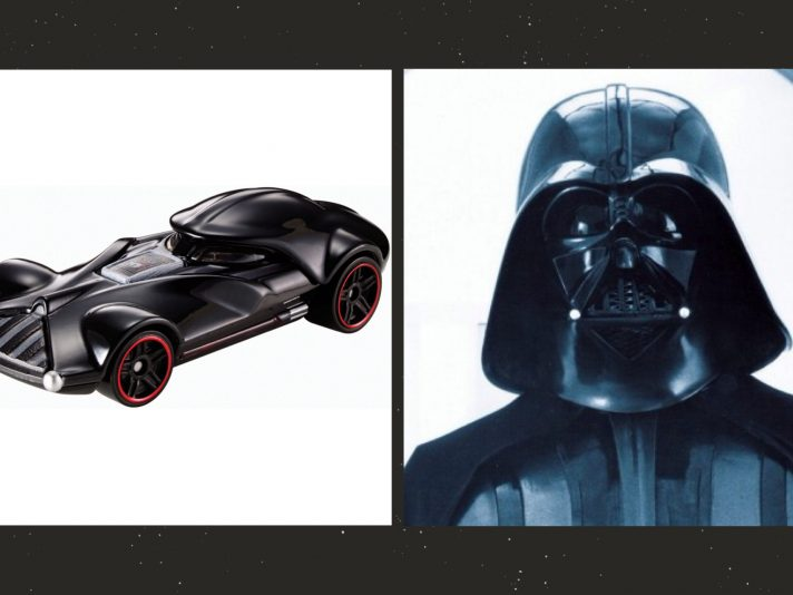 Le auto di Star Wars ispirate personaggi