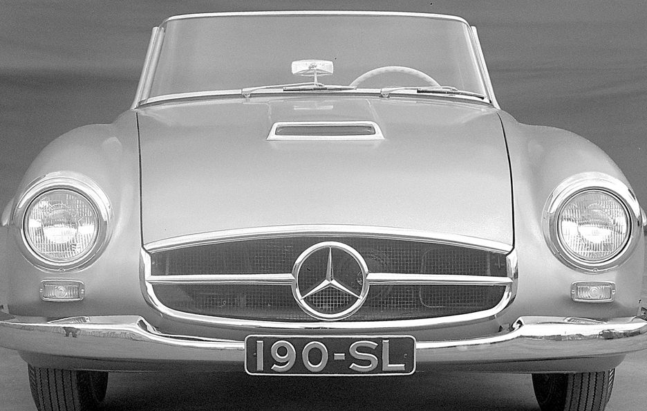 Mercedes 190 SL frontale