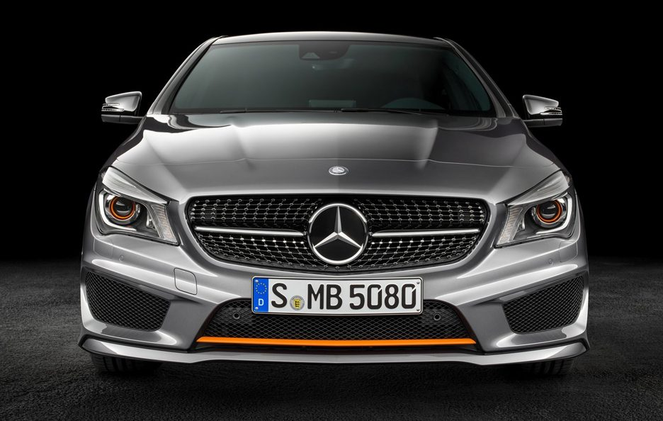 Mercedes CLA Shooting Brake frontale