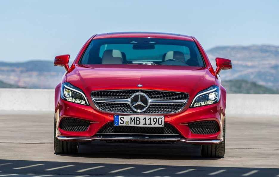 Mercedes CLS frontale