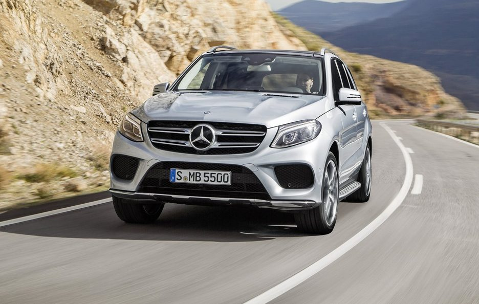 Mercedes GLE frontale
