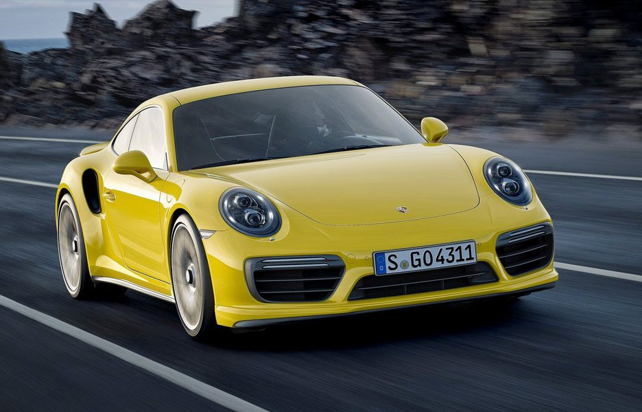 Porsache 911 Turbo S 2016