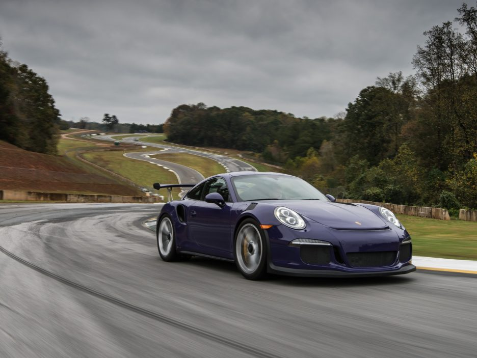 Porsche turbo VS GT3RS 3