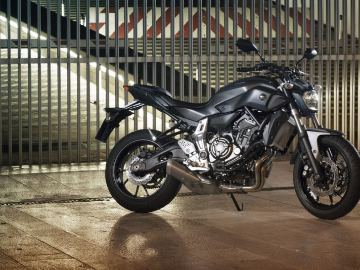 Yamaha MT-07 - Design