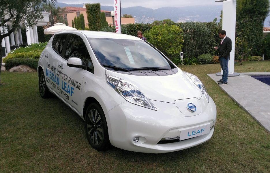 Nissan Leaf 2016 - Nizza