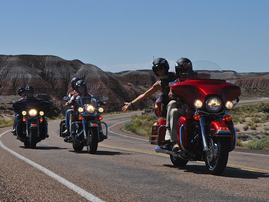 RIDING PAINTED DESERT