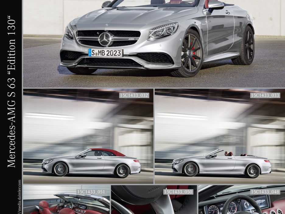mercedes amg s 63 4matic cabriolet 130 limited special edition