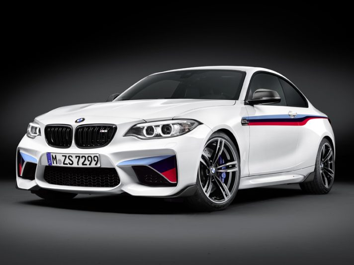 Nuovi Accessori M Performance Parts per la BMW M2