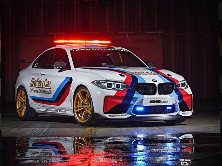 MotoGP 2016, ecco la BMW M2 Safety Car